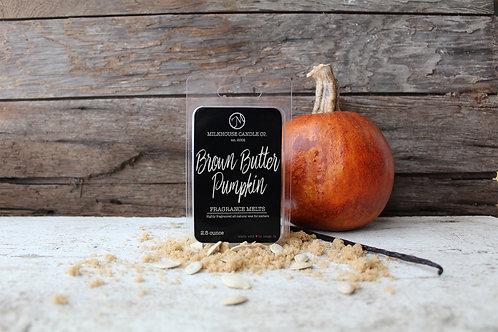 Milkhouse 2.5 oz Melt - Brown Butter Pumpkin