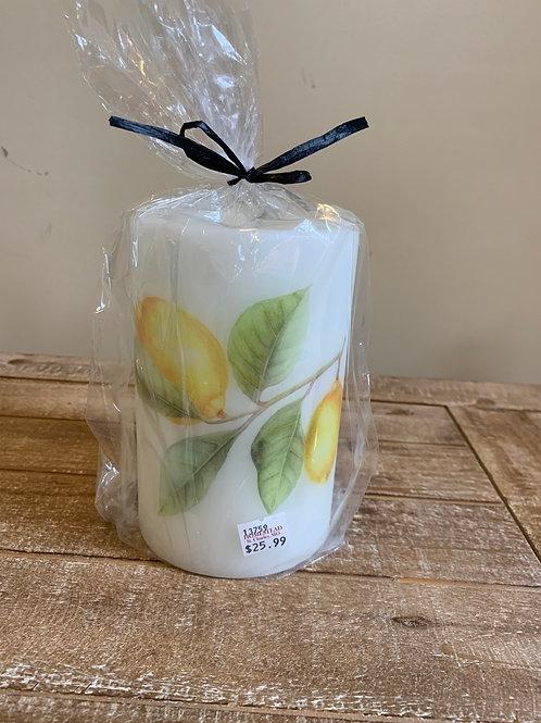 Candle Sleeve - Lemons