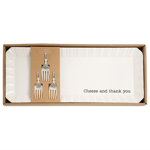 Cheese & Thank You Tray