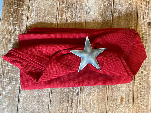 Casual Classic Red Napkin