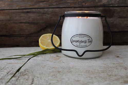 Milkhouse 16oz. Butter Jar - Lemongrass Tea