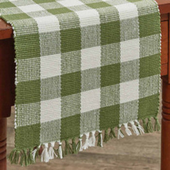 "Wicklow Table Runner - 36"" - Sage"