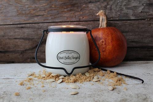 Milkhouse 16oz. Butter Jar - Brown Butter Pumpkin