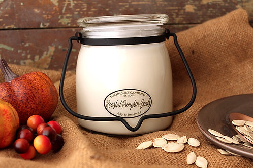 Milkhouse 16oz. Butter Jar - Roasted Pumpkin Seeds