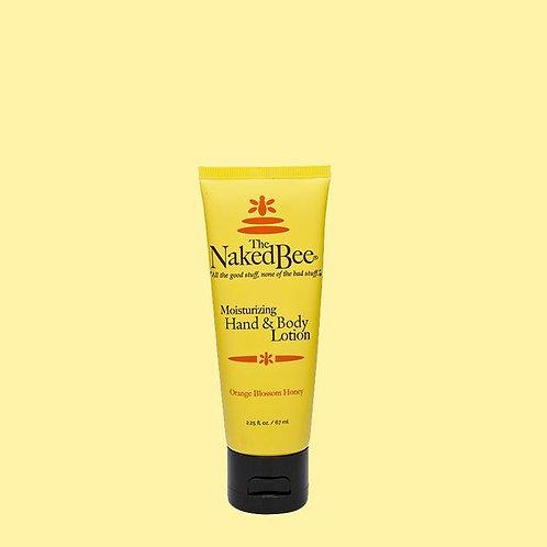 Naked Bee Lotion 2.25oz - Orange Blossom Honey