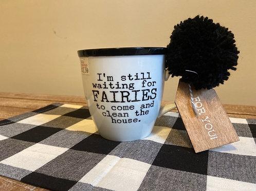 Clean the House Coffee Mug