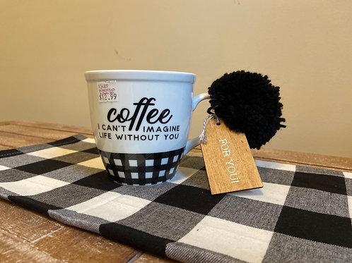 I Can't Imagine Coffee Mug