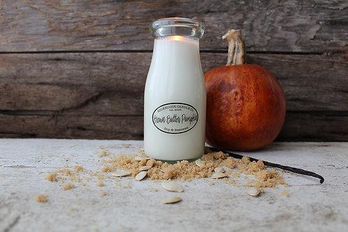 Milkhouse 7oz. Milk Bottle - Brown Butter Pumpkin