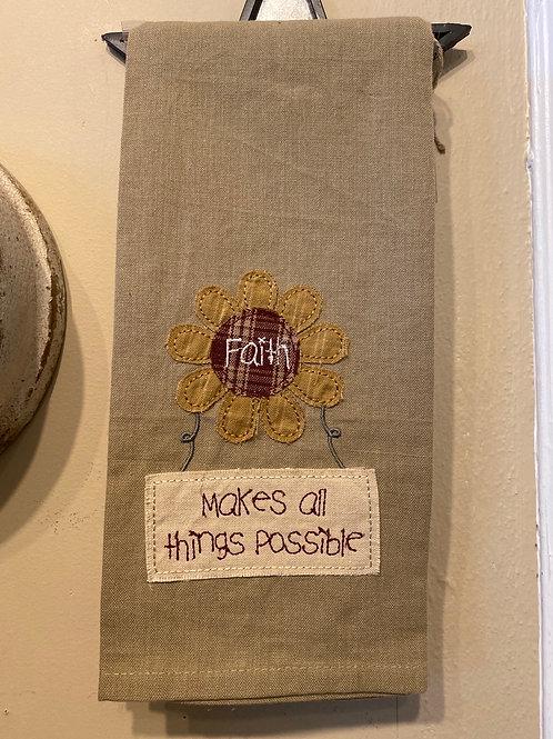 Faith Dish Towel