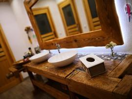 Die Toiletten.
