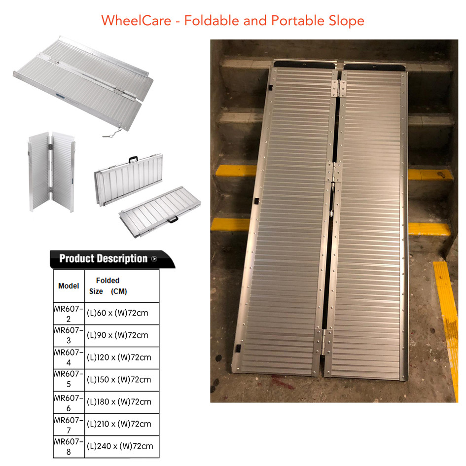 WheelCare - Foldable and Portable Slope
