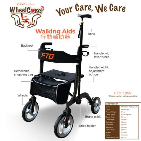 WheelCare - Walking Aids