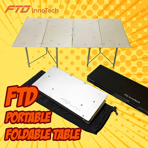 FTD Portable Foldable Table - Your BEST Camping Partner!!!
