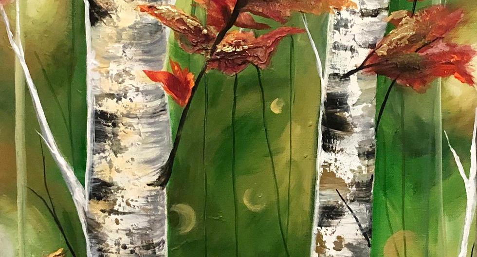 Gold Leaf Birch