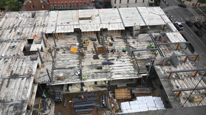 Lexington City Center Progress
