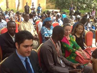 Remise de prix au Musee National de Bamako