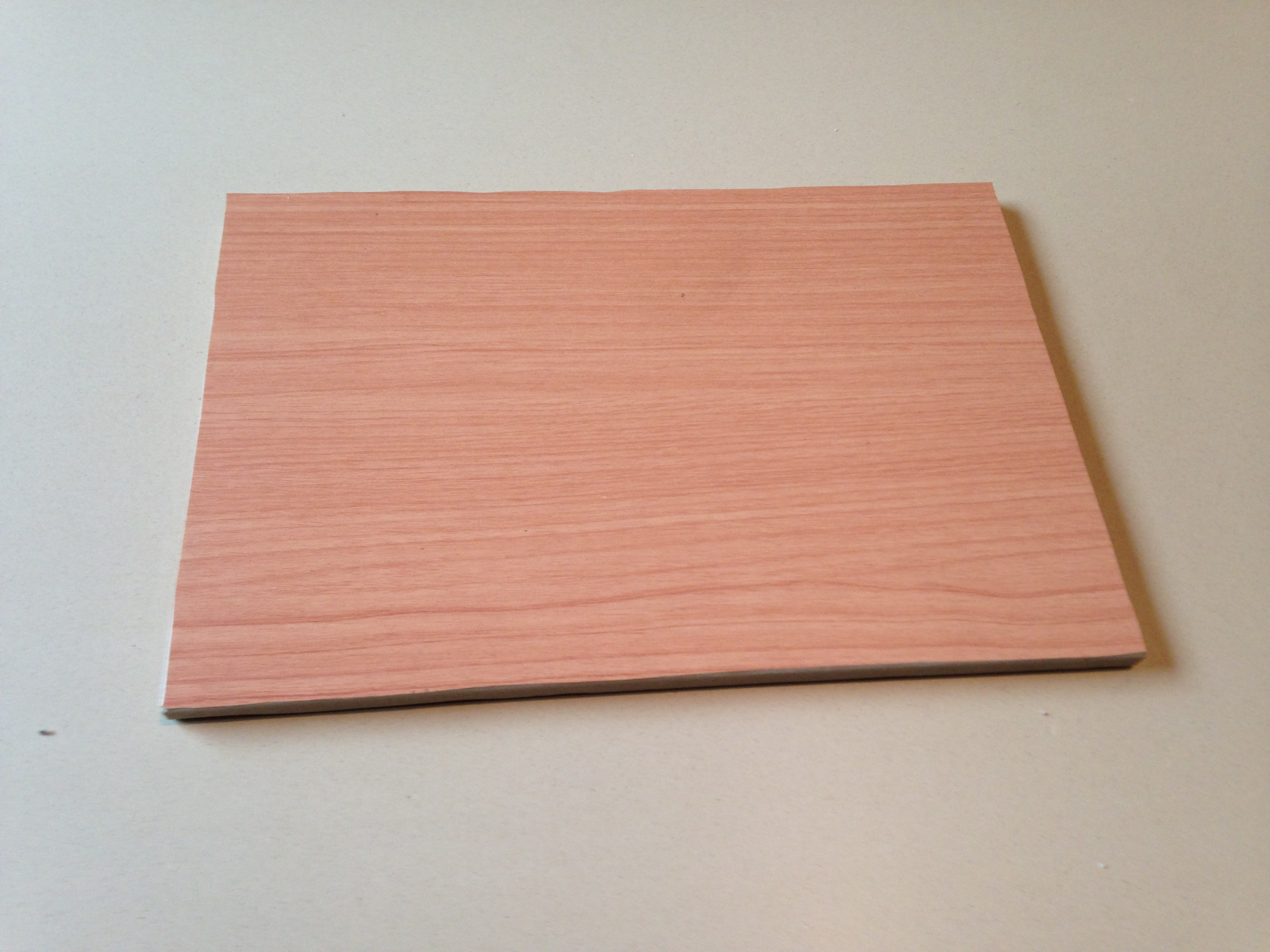 Example of foiled panel