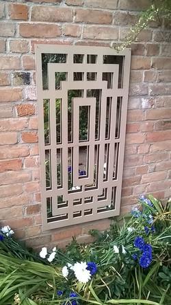 CNC routered decorative panel