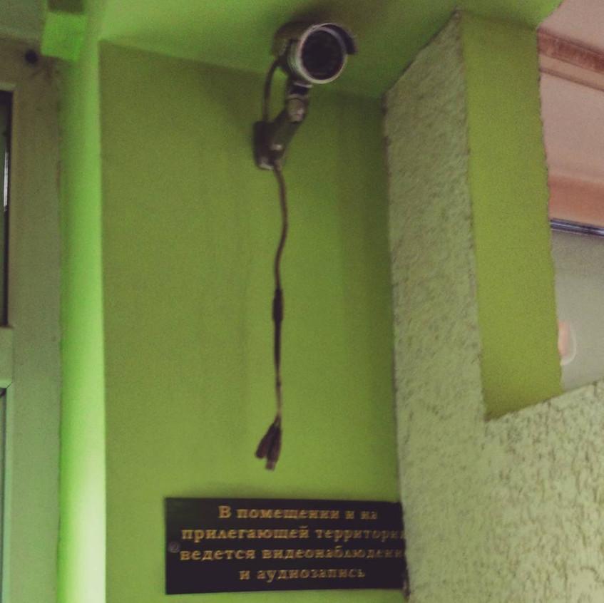 Видеокамера работает без проводов