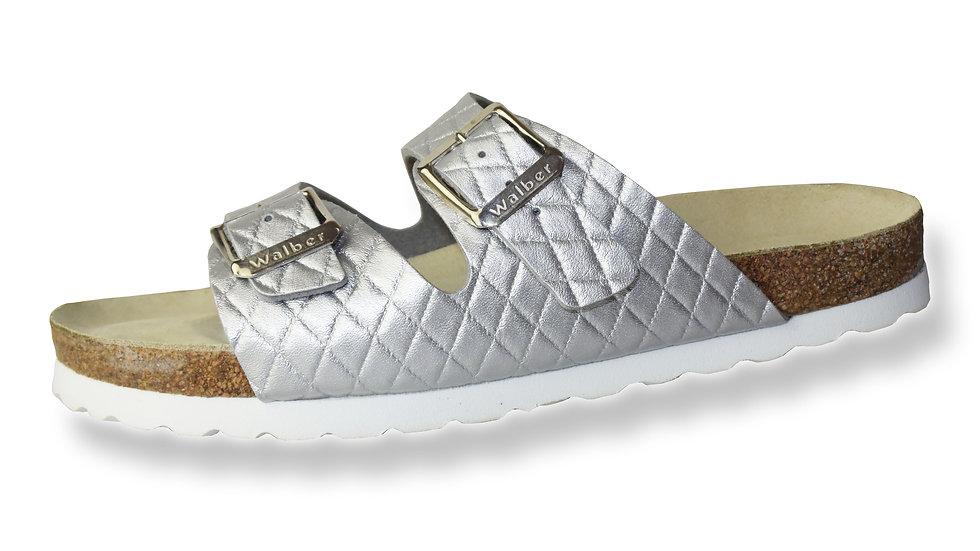 Flieder-checkered silver