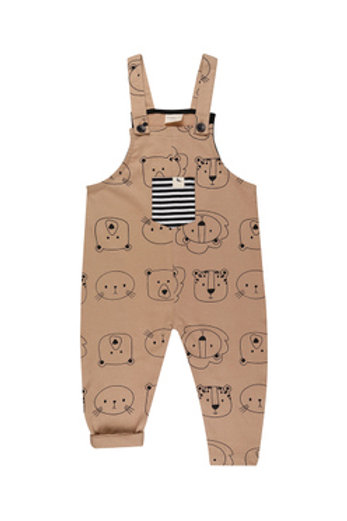 CUB FACE EASY FIT DUNGAREES