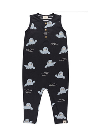 WHALES TAILS EASY FIT DUNGAREES
