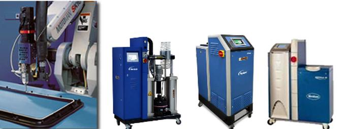 Nordson 產品組立應用 熱熔膠機