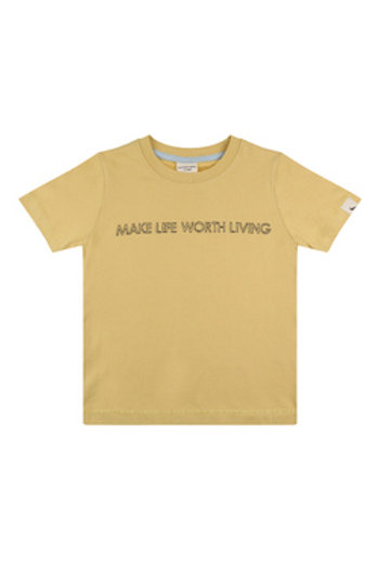 LIVING LIFE EMBROIDERED T