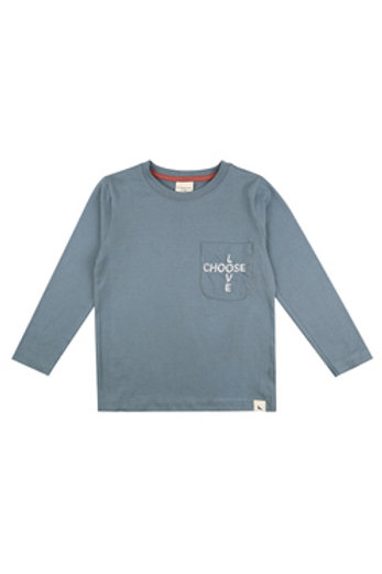 EMBROIDERED POCKET TOP