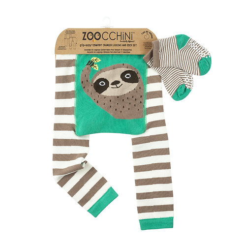 Baby Legging & Socks Set -  Silas the Sloth