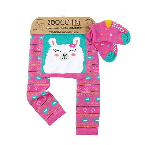 Baby Legging & Socks Set -  Laney the Llama