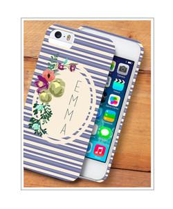 Peri Mini Stripe Phone Case