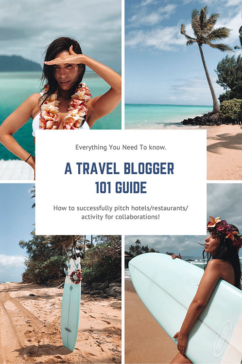 A Travel Blogger 101 Guide