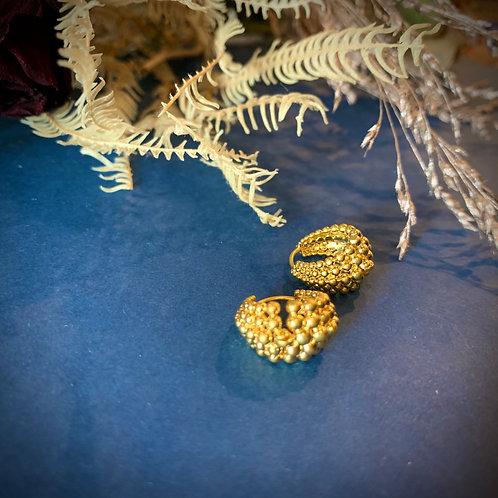 B.O mini-créoles billes