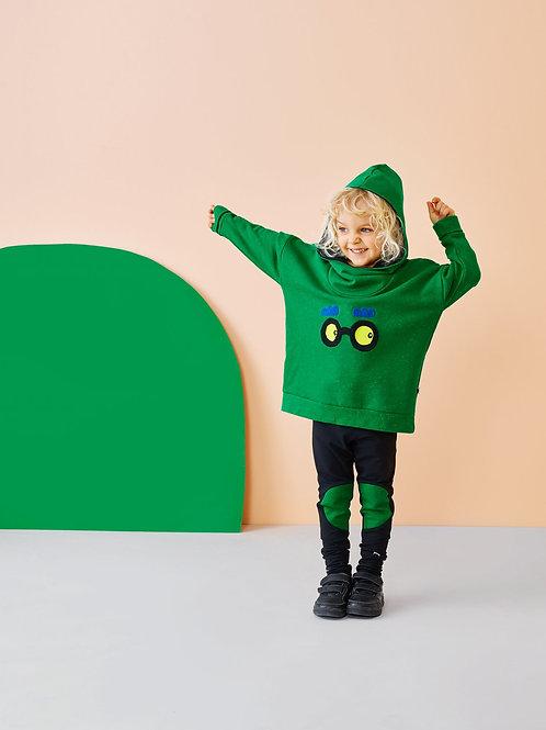 GIANT HOODIE, Loud Green