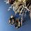 Thumbnail: B.O Pendantes – couleur léopard – doré