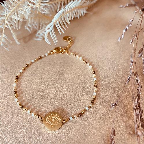 Bracelet Third Eye – blanc