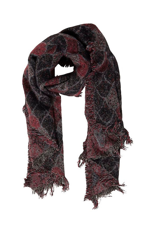 SCARF RUSSET BROWN