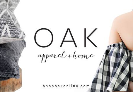 SHOP LOCAL | Oak Apparel & Home