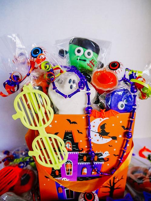 PRE-ORDER: Halloween Kid's Treat Basket  SMALL
