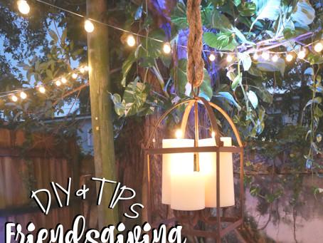 DIY   Friendsgiving   Thanksgiving