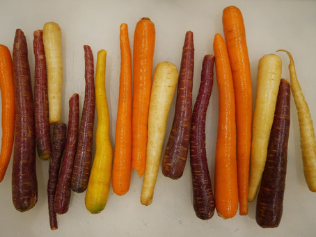 EASY RECIPE | Autumn Rainbow Carrots