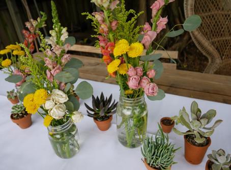 Desert Fiesta Floral Runner   DIY
