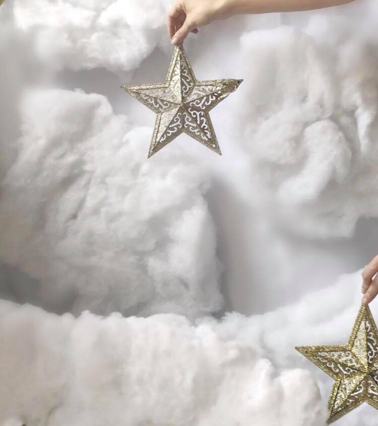 Angel scene for babies and toddlers