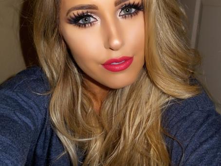 V-Day Make-Up Look