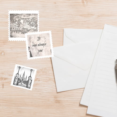 New Orleans Romance themed Stamps Bundle