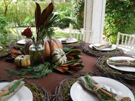 B2B Thanksgiving Menu & Decor Guide