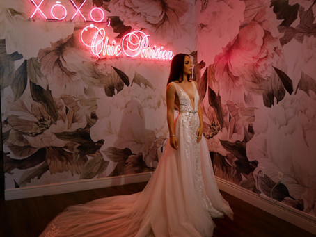 """YES TO THE DRESS"" AT CHIC PARISIEN 
