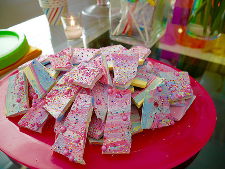 DIY UNICORN BARK