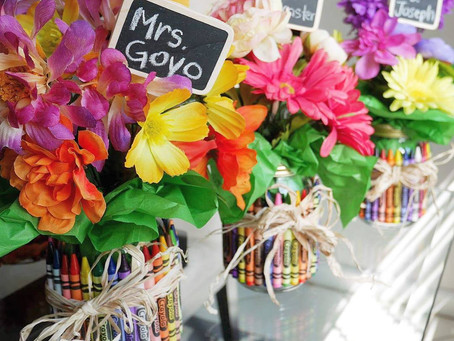 DIY | Teacher's Crayon Bouquet